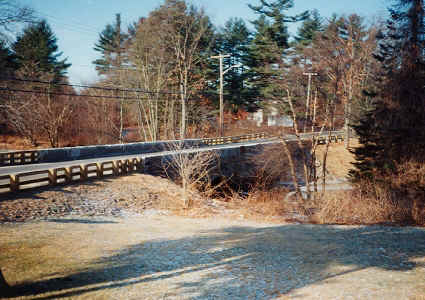 Abbott Bridge (South Bridge) Double Arched Stone Bridge, Pelham, NH